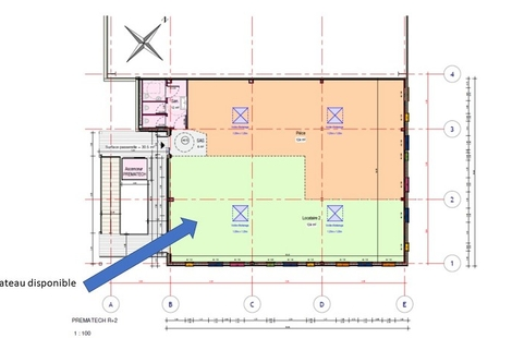 Location Bureaux MONTOIR-DE-BRETAGNE 124m²