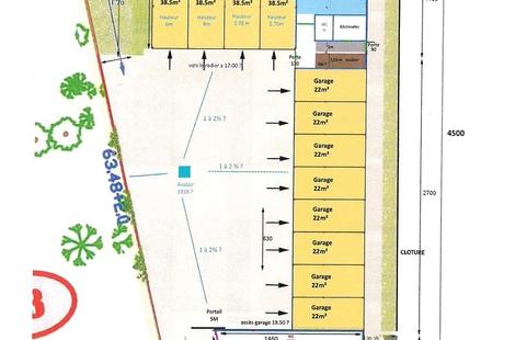 Location Entrepôt PORNICHET 38m²