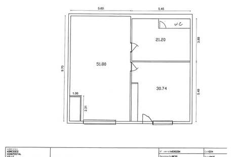 Location Locaux d'activités SAINT-BREVIN-LES-PINS 105m²