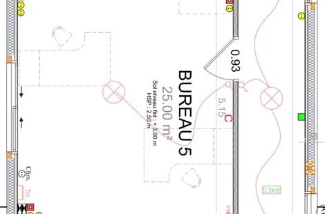 Location Bureaux PORNICHET 25m²
