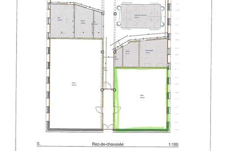 Location Bureaux SAINT-NAZAIRE 60m²