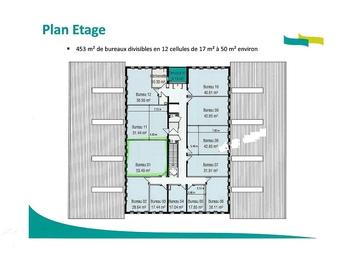 Location Bureaux SAINT-NAZAIRE 53m²