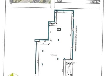Vente Murs commerciaux SAINT-NAZAIRE 180m²